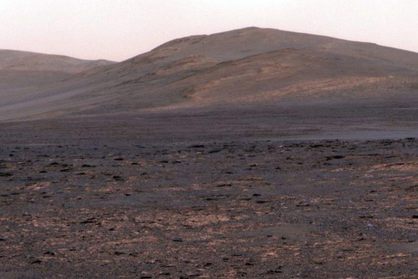 Une vue panoramique de Mars.... (Photo fournie par la NASA)