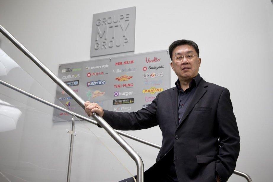 Stanley Ma, PDG du Groupe MTY.... (PHOTO DAVID BOILY, LA PRESSE)