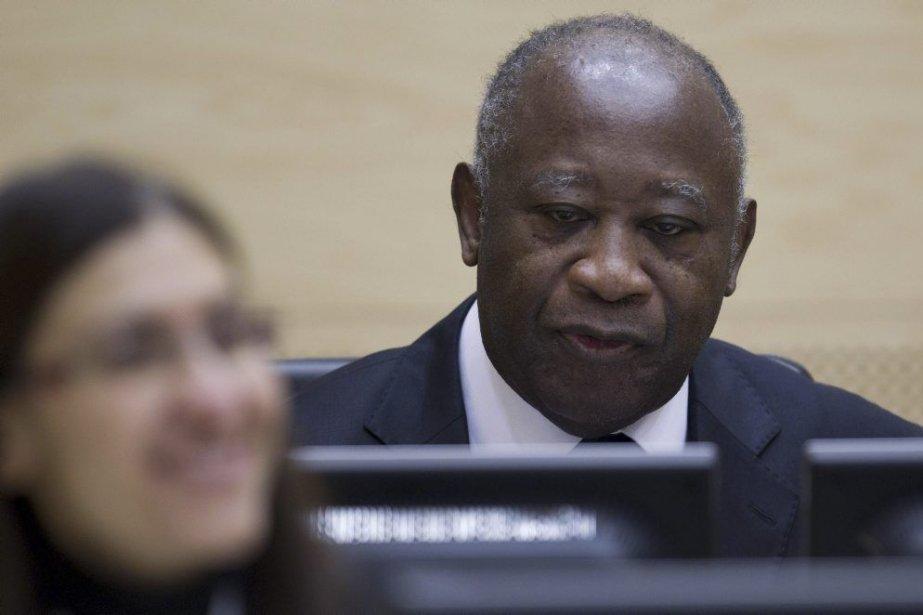 Laurent Gbagbo (photo) est détenu depuis fin 2011... (PHOTO PETER DEJONG, AFP)
