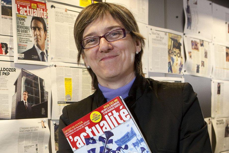 Carole Beaulieu, la redactrice en chef et editrice... (PHOTO ROBERT SKINNER, ARCHIVES LA PRESSE)
