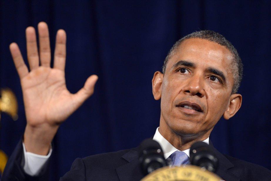 Le président américain Barack Obama s'est porté à... (PHOTO JEWEL SAMAD, AFP)