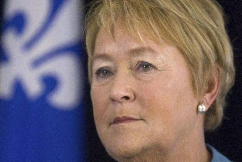 Les stratèges autour de Pauline Marois sont déterminés... (Archives La Presse Canadienne)