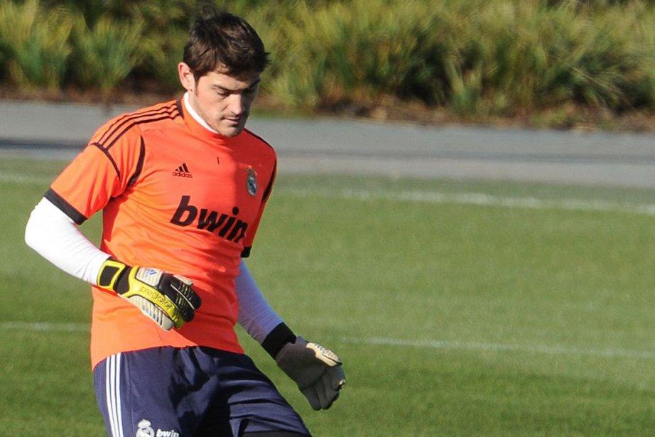 Iker Casillas, le gardien de l'équipe d'Espagne, n'a... (Photo : Dominique Faget, archives AFP)