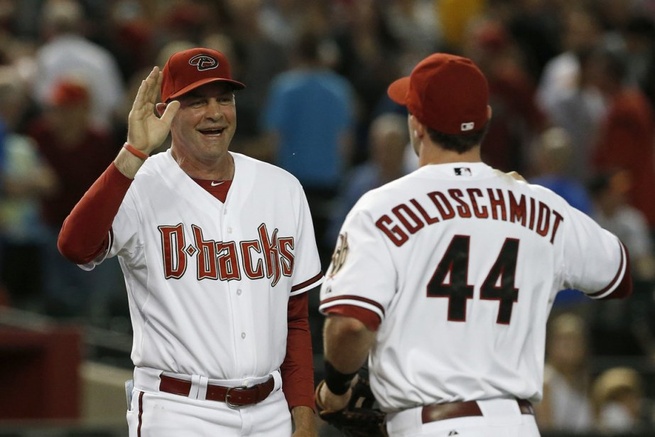Paul Goldschmidt a frappé un circuit de trois... (Photo : Ross D. Franklin, AP)