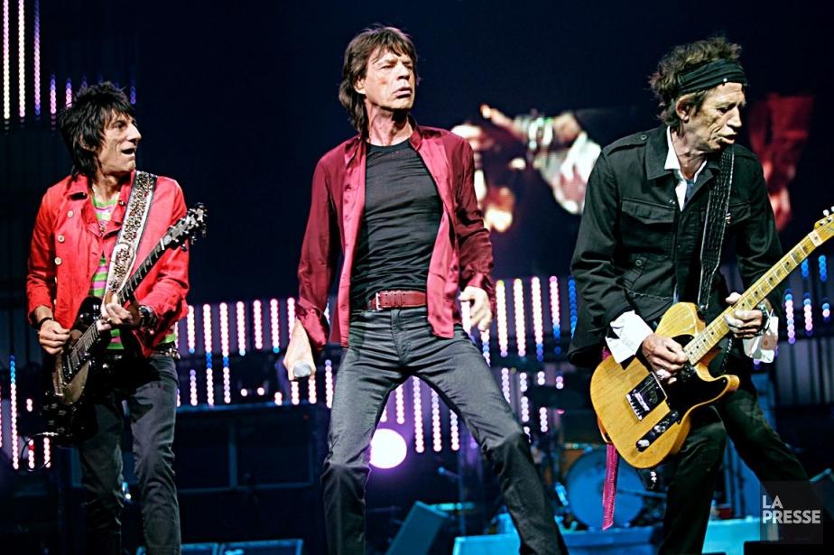 Les Rolling Stonesont généré des ventes de 2... (Photo: archives La Presse)