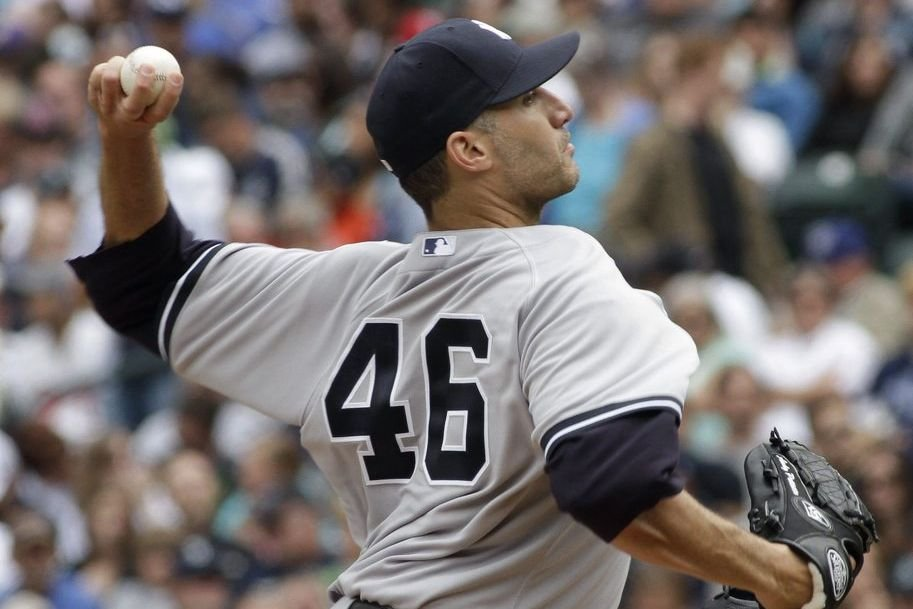 Andy Pettitte remporte sa 213e victoire dans l'uniforme... (PHOTO ROBERT SORBO, AP)