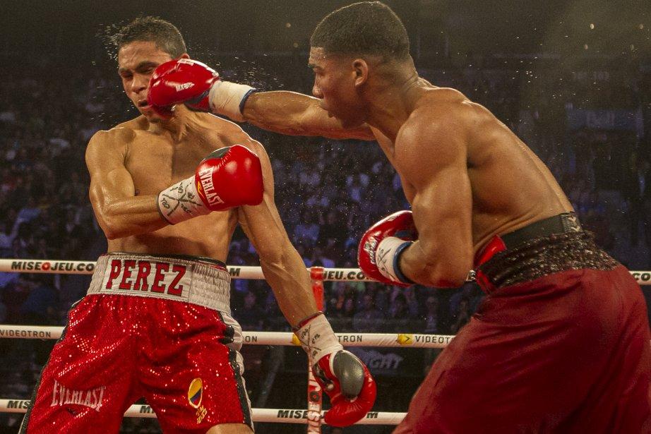 Combat de boxe entre Yuriorkis Gamboa et Darley Perz. | 9 juin 2013