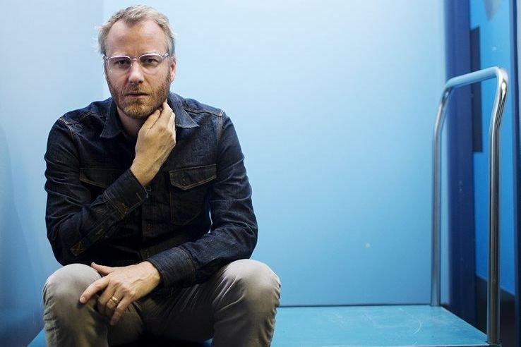 Matt Berninger, chanteur du groupe The National.... (Photo La Presse Canadienne)