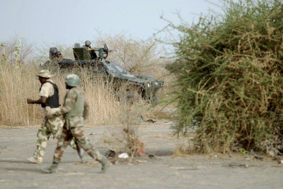 Des soldats patrouillent dans le nord de l'État... (Photo Quentin Leboucher, AFP)