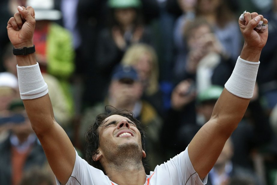 Rafael Nadal devient le premier joueur de l'histoire... (Photo : Kenzo Tribouillard, AFP)