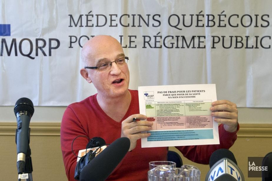 Alain Vadeboncoeur, président du MQRP... (Photo Robert Skinner, archives La Presse)