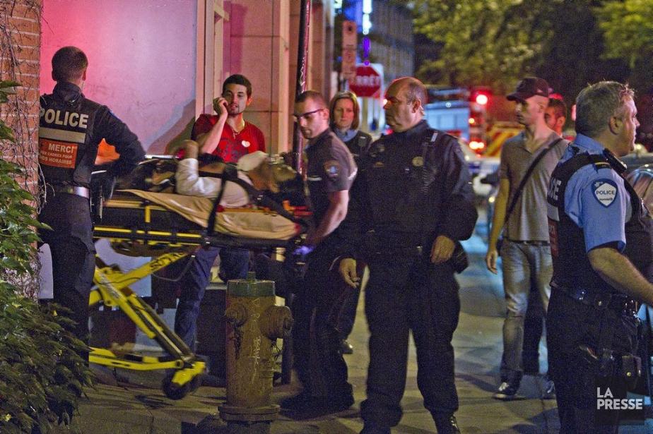 L'agression est survenue vers 2h15, lorsqu'un homme dans... (Photo Félix-Olivier Jacques Fournier, collaboration spéciale)