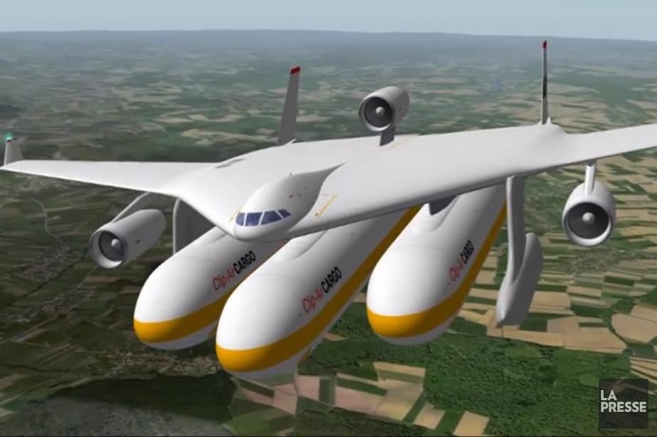 Les ingénieurs ont calculé que cet avion consommerait... (Photo fournie par l'EPLF)