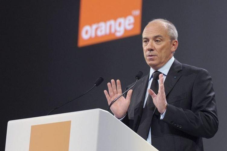 Stéphane Richard, patron du groupe français de télécommunications... (Photo AFP)