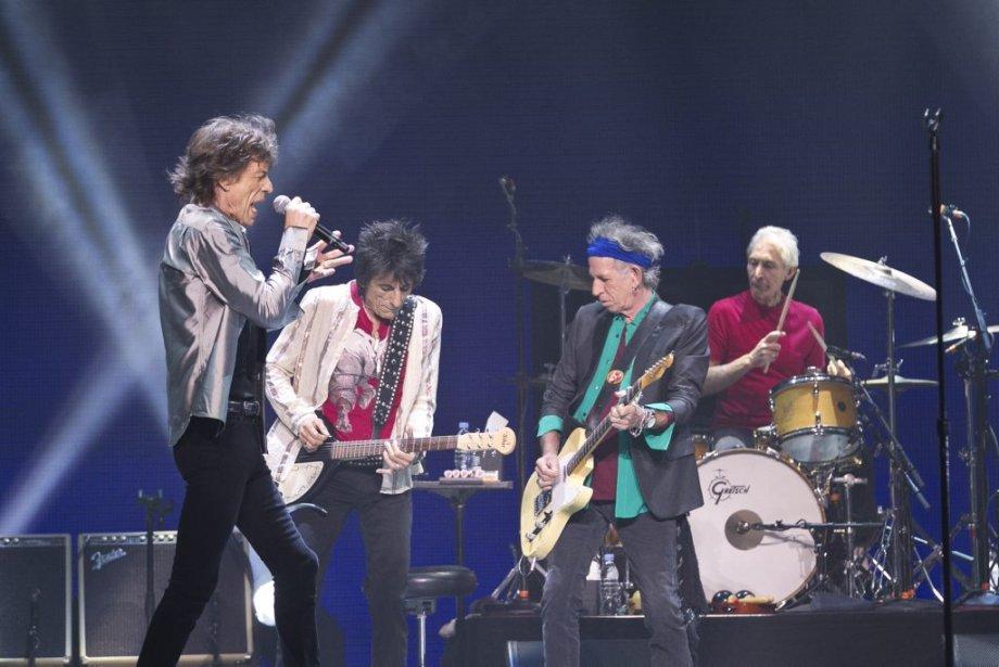 Les Stones ont offert une prestation d'un peu plus de... | 2013-06-10 00:00:00.000