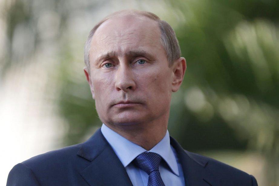 Le président russe Vladimir Poutine.... (PHOTO MAXIM SHIPENKOV, ARCHIVES AFP)