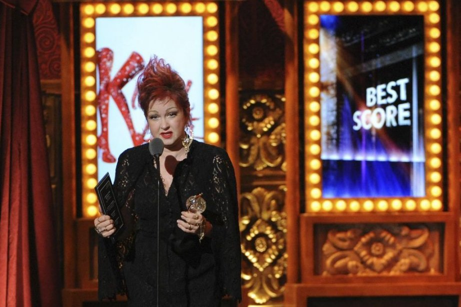 Cyndi Lauper a remporté le Tony pour la... (Photo: AP)