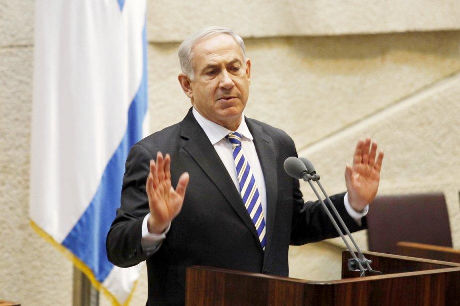 Le premier ministre israélien Benyamin Nétanyahou.... (PHOTO GALI TIBBON, AFP)