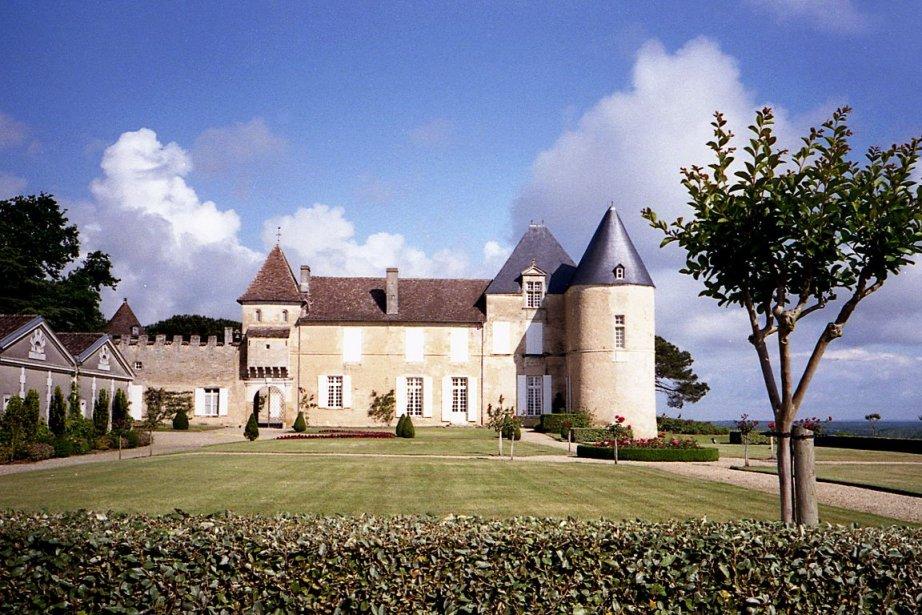 Les terres du Château d'Yquem.... (Photo Carl Thériault, collaboration spéciale)