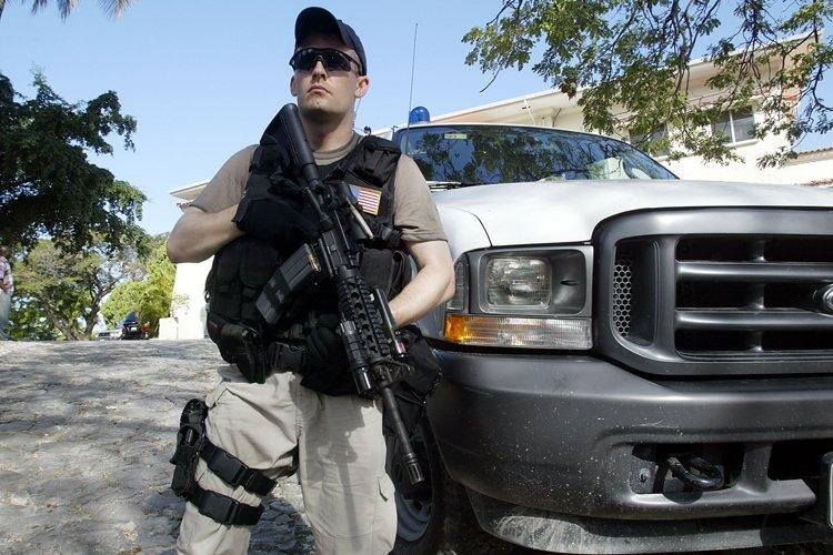 Le prestige de la sûreté diplomatique a déjà... (Photo: AFP)