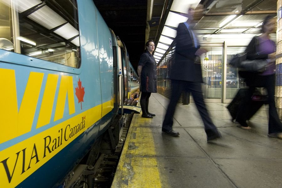 Via Rail affirme que si ses... (Photo: Robert Skinner, Archives La Presse)