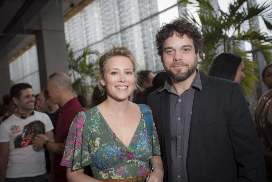 Pierre-Luc Brillant, et sa conjointe, Isabelle Blais. (Photo: Olivier Pontbriand, La Presse)