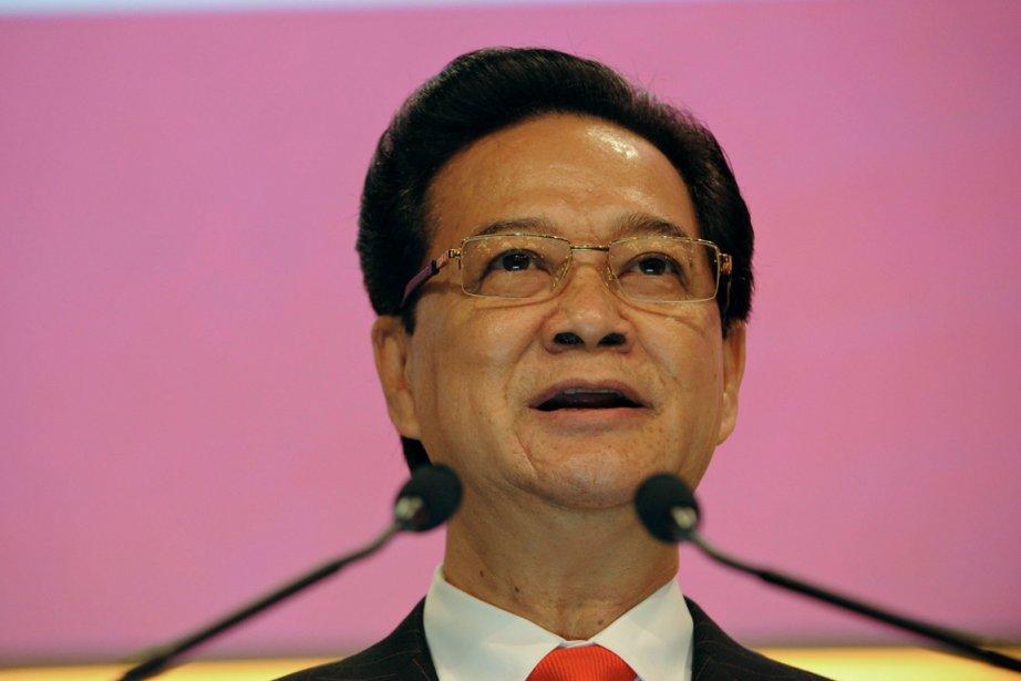 Le premier ministre Nguyen Tan Dung a obtenu... (PHOTO ROSLAN RAHMAN, AFP)
