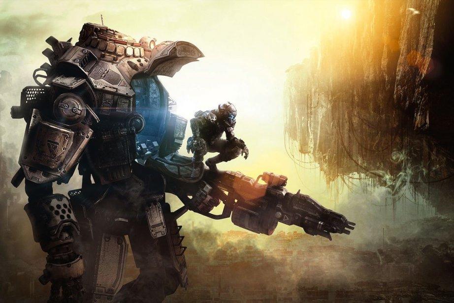 Titanfallsera lancé au printemps 2014 sur Xbox One,... (Photo Respawn Entertainment/EA)