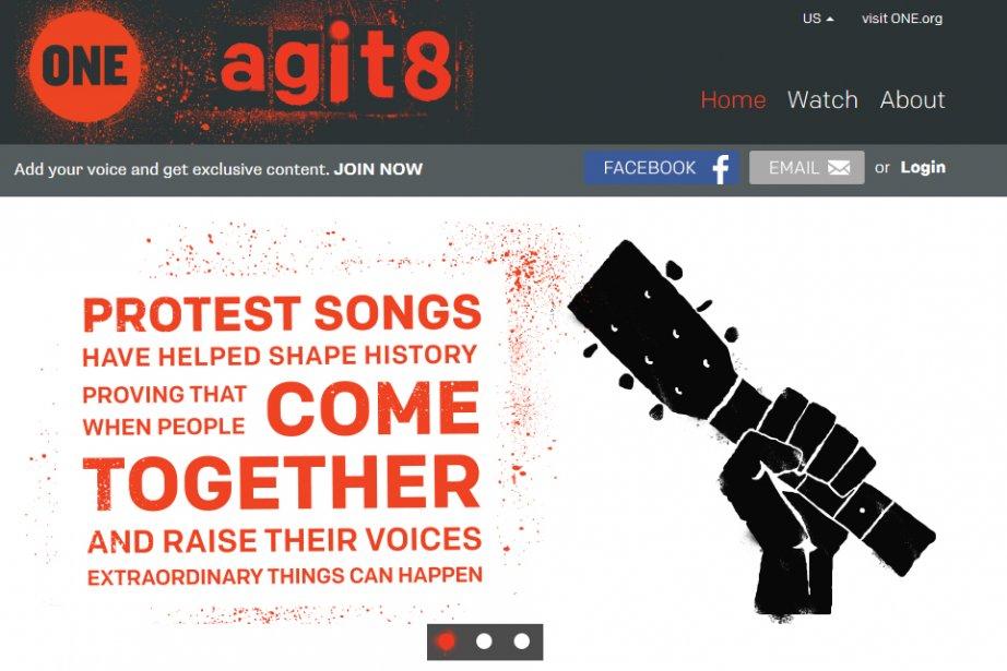 Une cinquantaine d'artistes français et internationaux, dont U2, Tryo ou...
