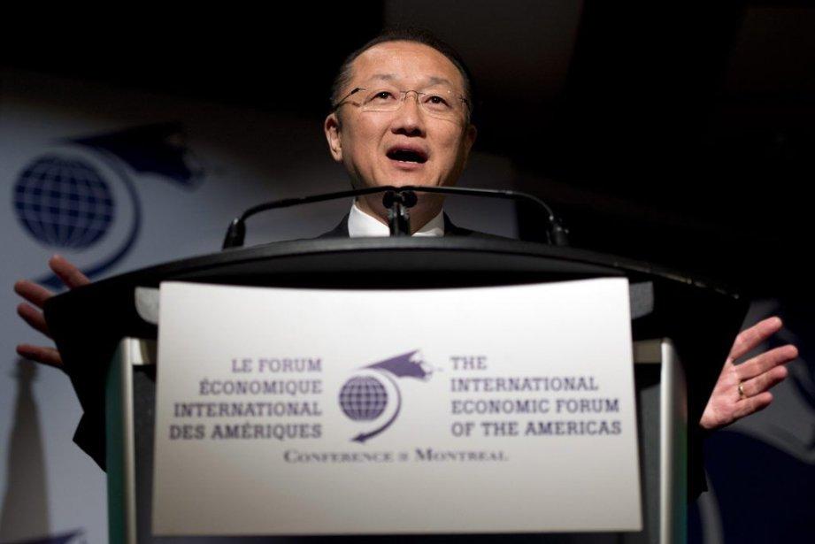 Le président de la Banque mondiale, Jim Yong... (Ryan Remiorz)