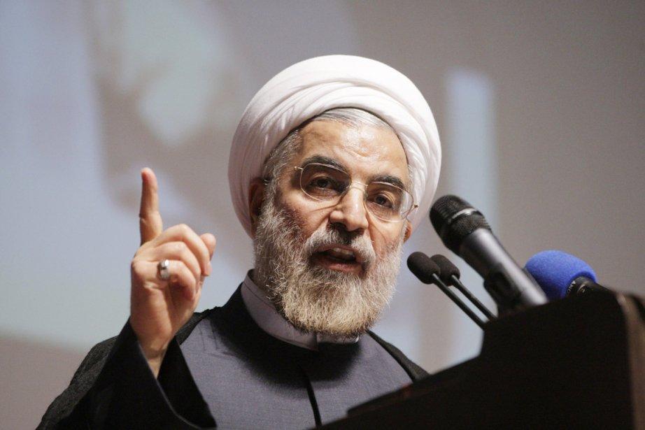 Le réformateur Hassan Rohani prône une politique de... (PHOTO VAHID SALEMI, AP)
