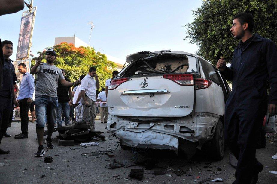 Un engin explosif a été découvert mardi collé... (PHOTO REUTERS)