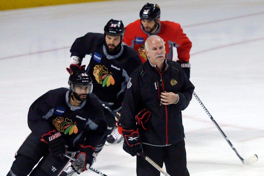 Chicago, vainqueur de la Coupe Stanley en... (PHOTO CHARLES REX ARBOGAST, AP)