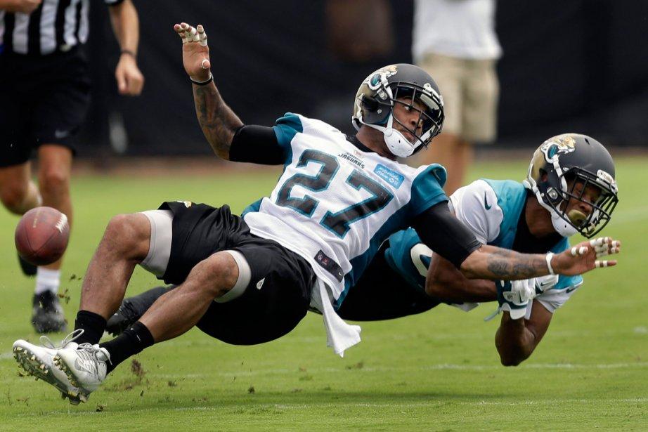 Les Jaguars de Jacksonville... (PHOTO JOHN RAOUX, AP)