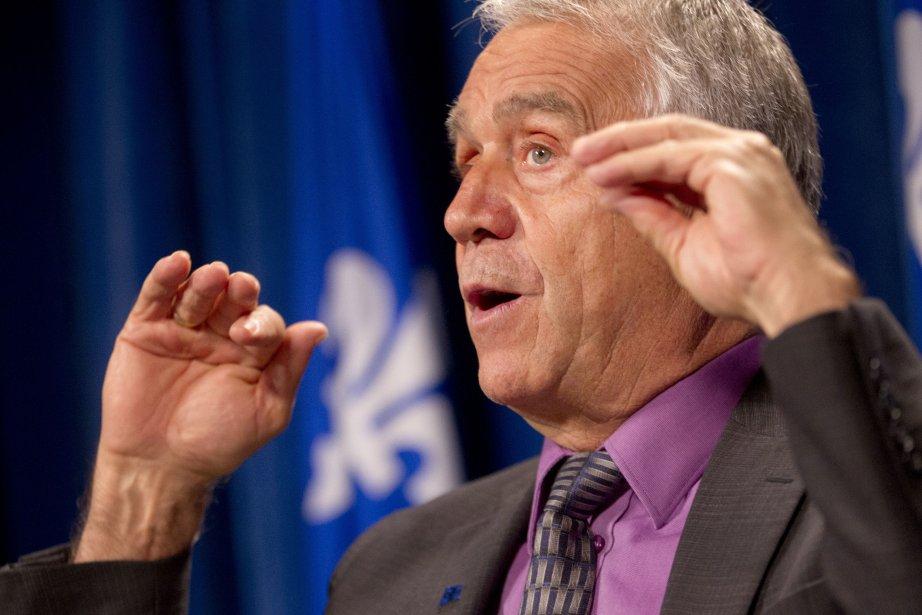 Le ministre de l'Agriculture, François Gendron.... (PHOTO IVANOH DEMERS, LA PRESSE)