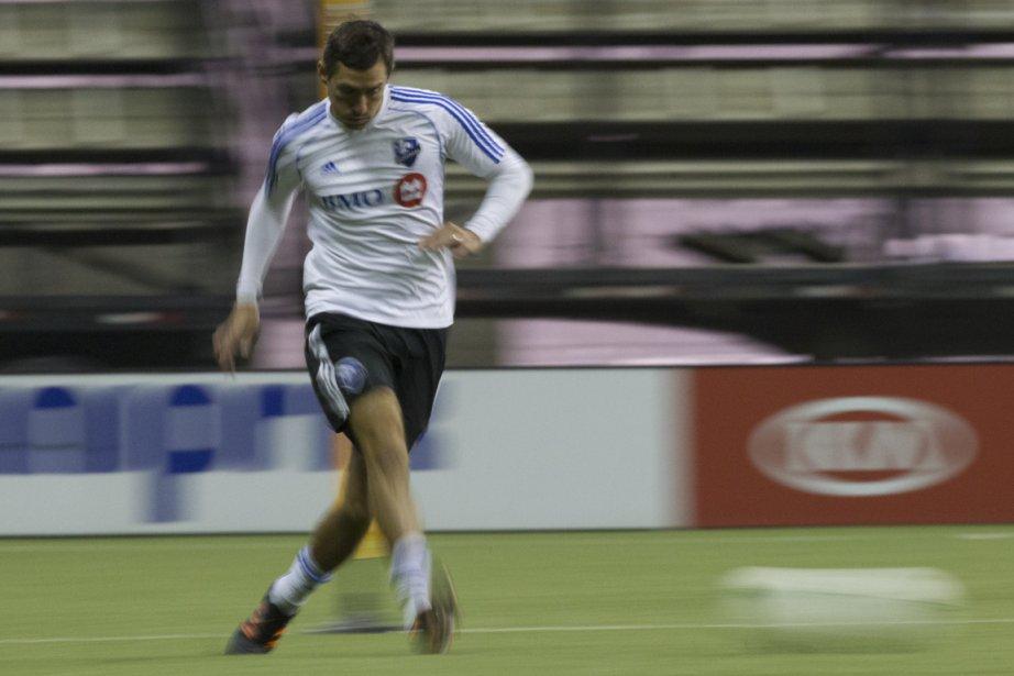 Davy Arnaud est absent du jeu depuis le... (Photo Olivier Jean, archives La Presse)