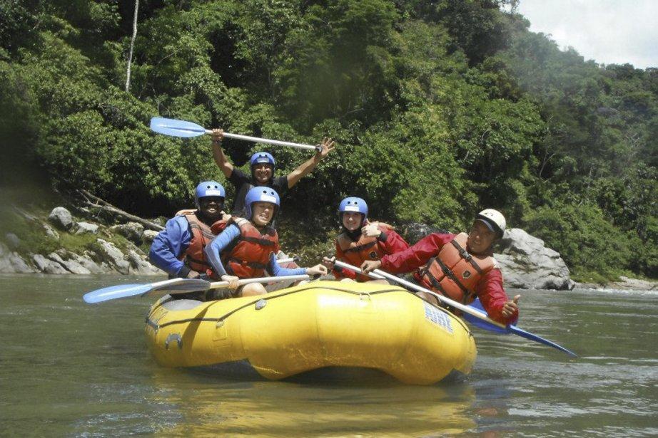 Le Rio Napo promet remous et sensations fortes! | 12 juin 2013
