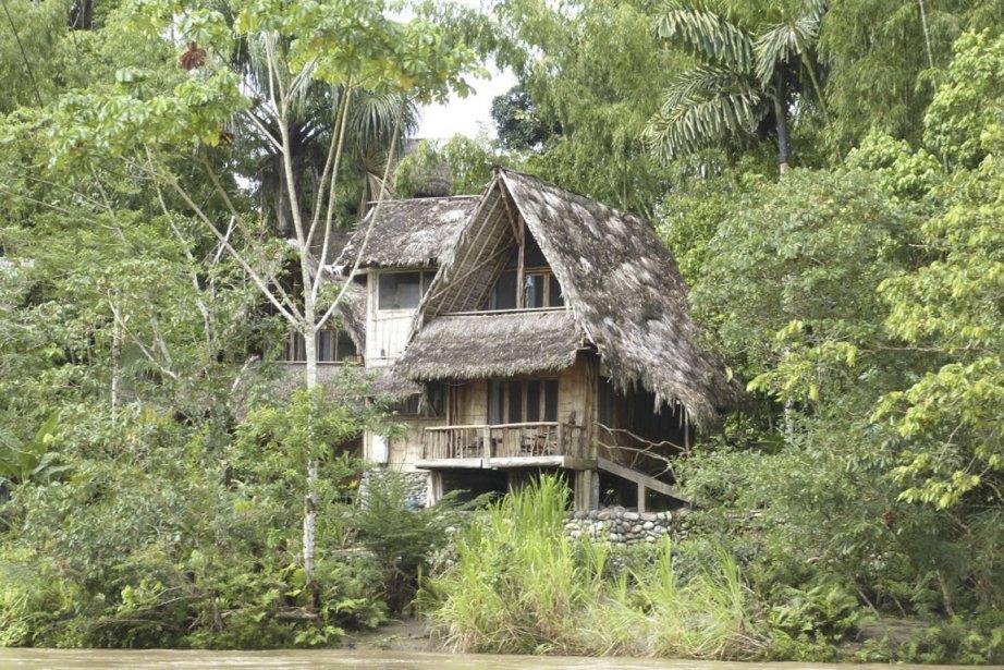 Le lodge Cotocotcha se compose de charmants pavillons de bois. | 12 juin 2013