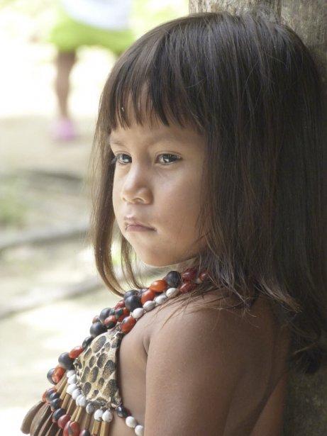 Une jeune fille de la communauté kichwa. | 12 juin 2013