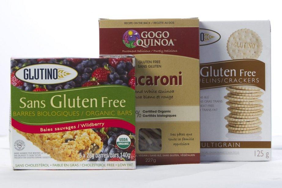 Des produits sans gluten.... (Photo Ivanoh Demers, Archives La Presse)