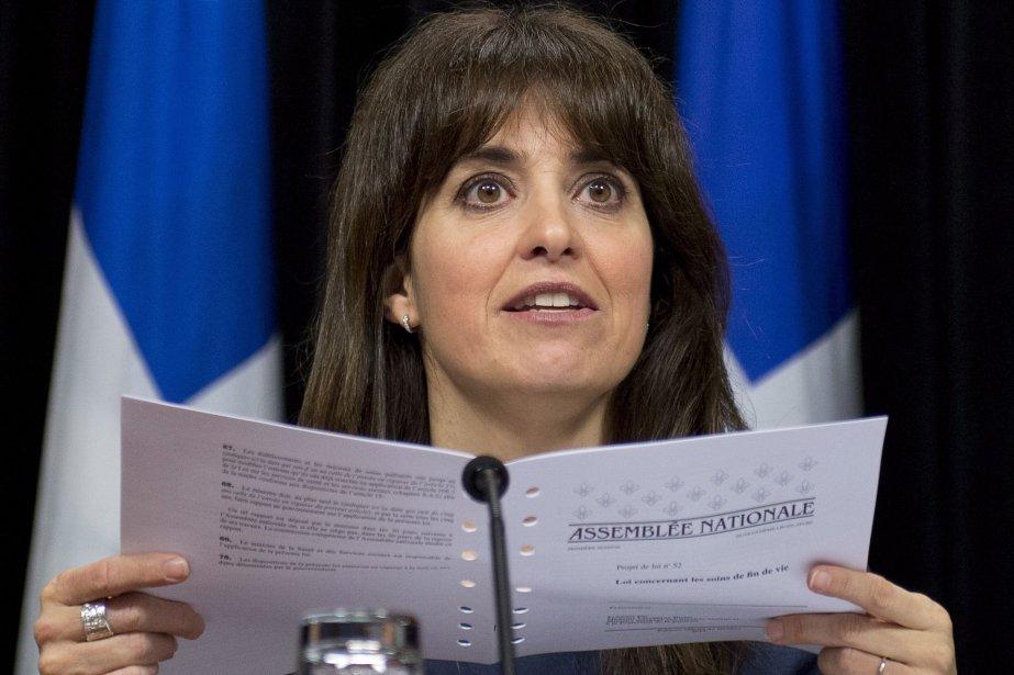 La ministre délégué aux Services sociaux et responsable... (Photo Jacques Boissinot, La Presse canadienne)