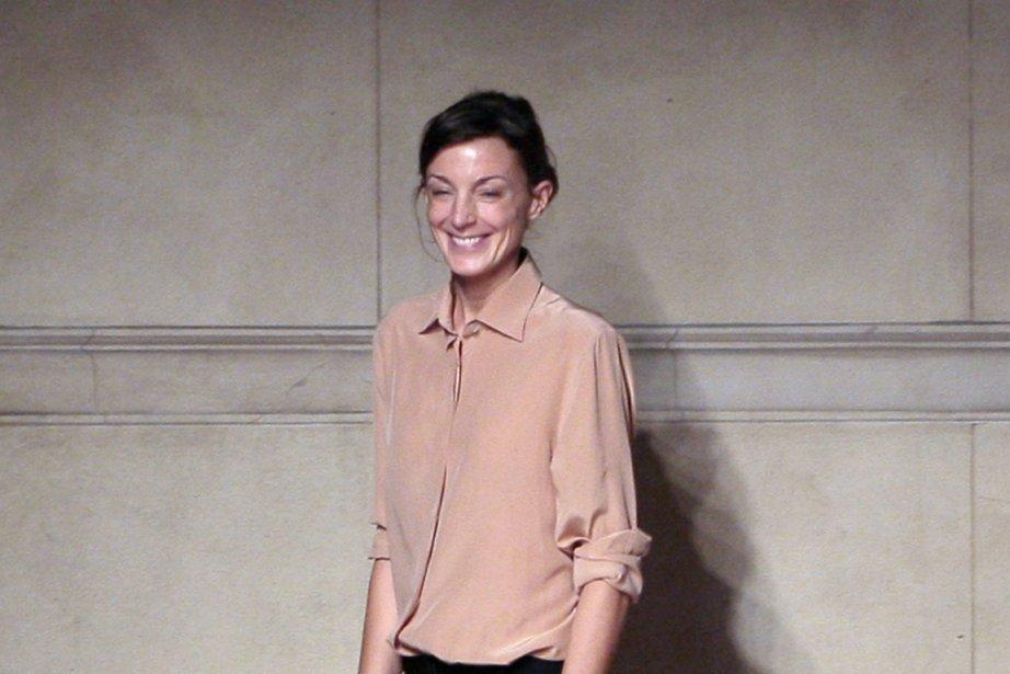 La créatrice britannique Phoebe Philo... (PHOTO FRANCOIS GUILLOT, AFP)