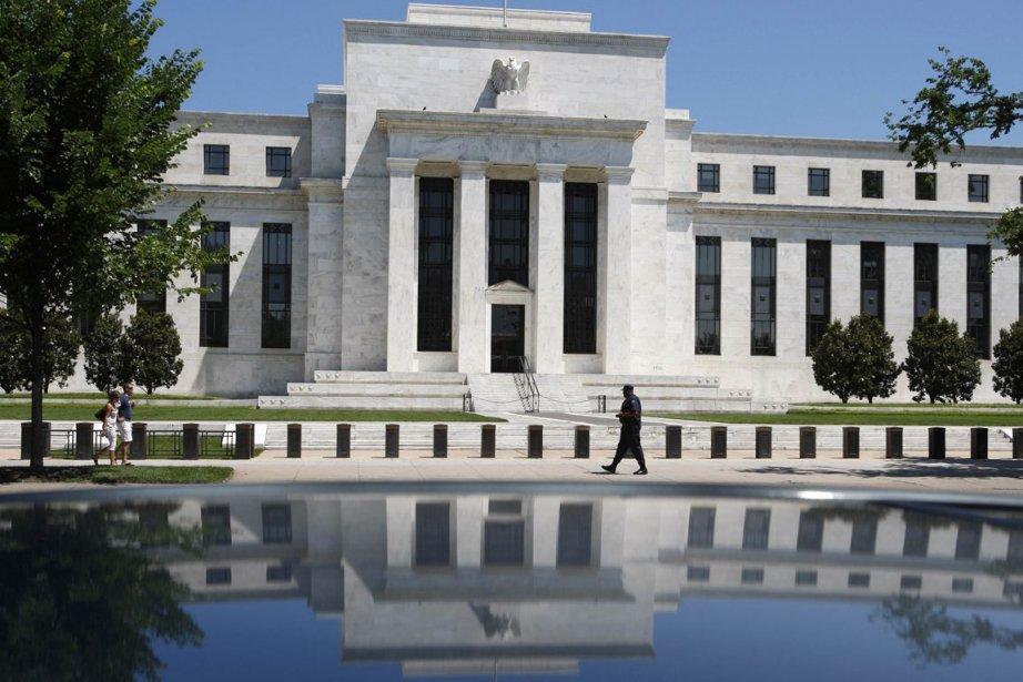 La banque centrale américaine (Fed).... (Photo Jim Young, Archives Reuters)