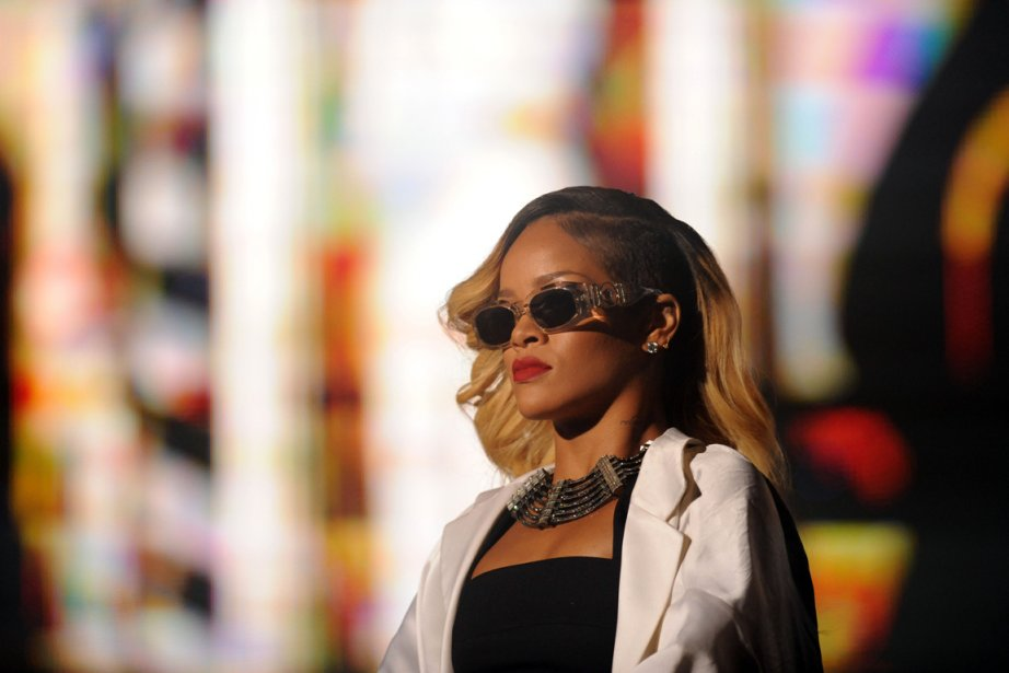 Rihanna... (PHOTO FADEL SENNA, AFP)