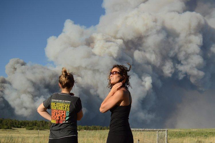 Environ 9500 habitants de la région ont été... (Photo: AP)