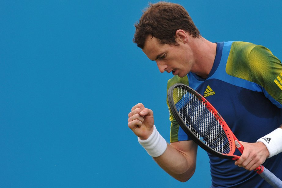 Andy Murray... (Photo Carl Court, AFP)