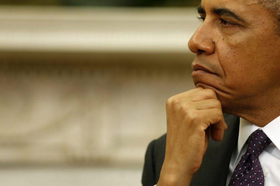 La Maison-Blanche a estimé jeudi que «des lignes rouges»... (Photo archives AP)