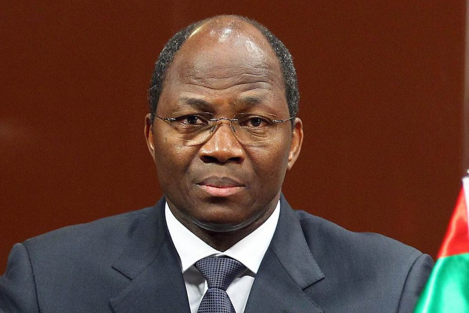 Le chef de la diplomatie burkinabè Djibrill Bassolé... (Photo AFP)