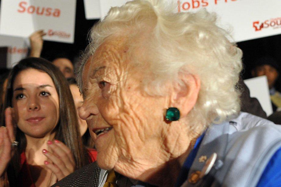 Âgée de 92 ans,Hazel McCallion est mairesse de... (PHOTO ARCHIVES PC)