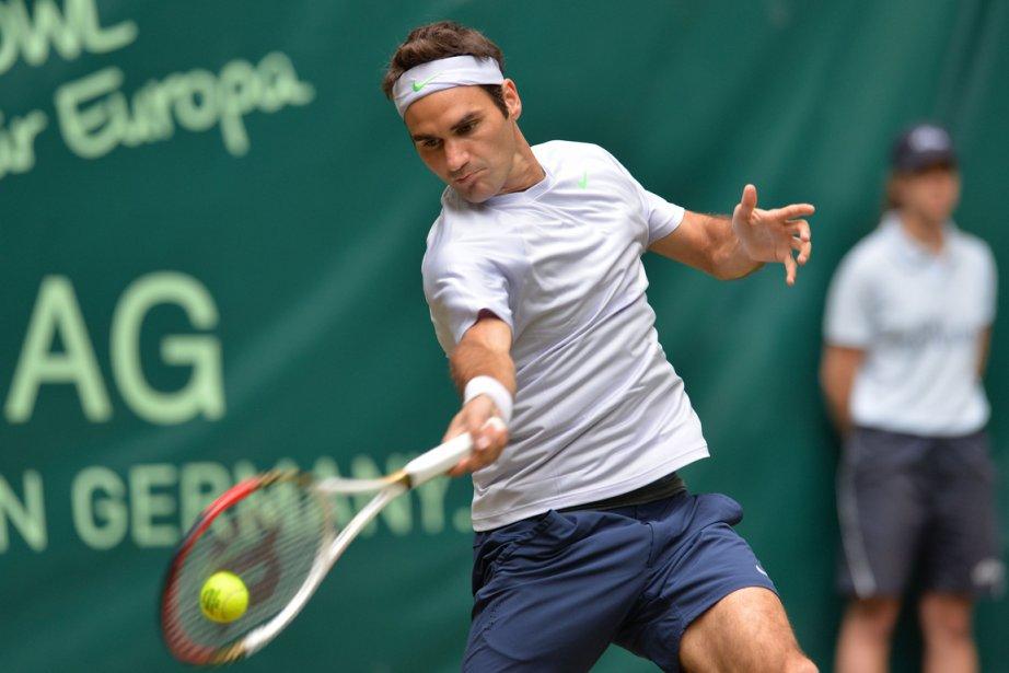 Roger Federer a signé le deuxième 6-0, 6-0... (Photo : Carmen Jaspersen, AFP)
